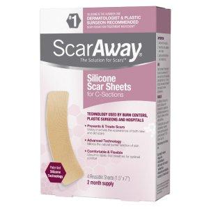 $14.05(原价$18.49)ScarAway 去疤凝胶贴 多款可选 医师推荐