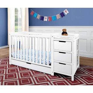 $359.99 (原价$518)近期好价:Graco Remi 四合一多功能婴儿床 可用到成人
