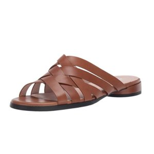 ECCO 女士拖鞋季末优惠 棕黑两色