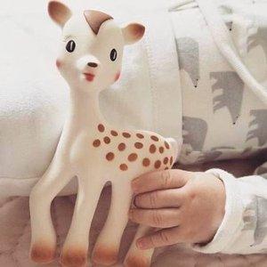 4折起 千万妈妈的选择Sophie Giraffe苏菲小鹿 风靡全球的宝宝玩具热卖 收牙咬胶