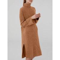 羊毛羊绒长款开叉打底裙