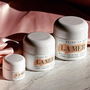 Today Only: Free 2 Deluxe Samples + Free Standard Shippingwith Any Purchase @ La Mer
