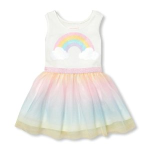 4c7f876d1 Girls Dresses   Children s Place  4.99   UP + Free Shipping - Dealmoon