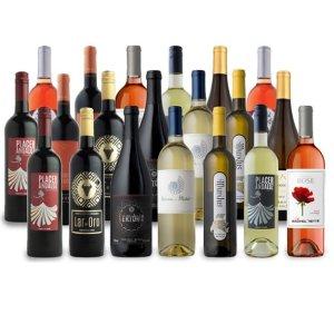 $74Splash Wines 红葡萄酒、白葡萄酒、桃红酒混合20瓶超值促销