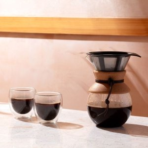 低至4.8折 6个双层玻璃杯仅€24史低价:Bodum 丹麦高端杯具 颜值高质量好 精致家居好物合集