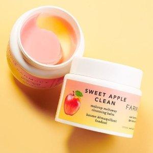 精选7折+满送价值$51好礼最后一天:Farmacy官网 护肤热卖 收双层苹果卸妆膏、蜂蜜面膜