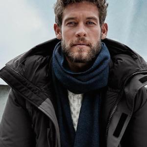 8折特价 冬季必备 保暖有型加拿大鹅 男款Sanford系列625蓬白鸭绒三级防寒保暖派克大衣