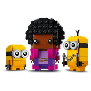 LegoBelle Bottom, Kevin and Bob 40421 | BrickHeadz | Buy online at the Official LEGO® Shop US