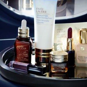 15% Off+Free GiftEstee lauder Beauty Purchase @ Belk