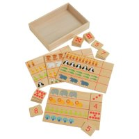 Counting Animals - Learning Game Constructive Playthings