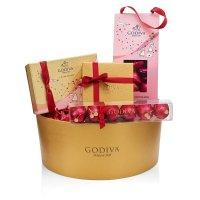 Godiva 情人节黑巧克力礼盒套装