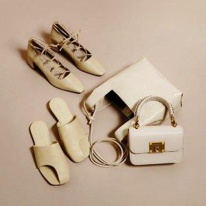 5折起 €36收斜挎包Charles & Keith 夏季大促开始 少女风蝴蝶结、小猫跟鞋上新