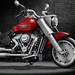 $99.99 with GiftLEGO Creator Expert Harley-Davidson® Fat Boy® - 10269