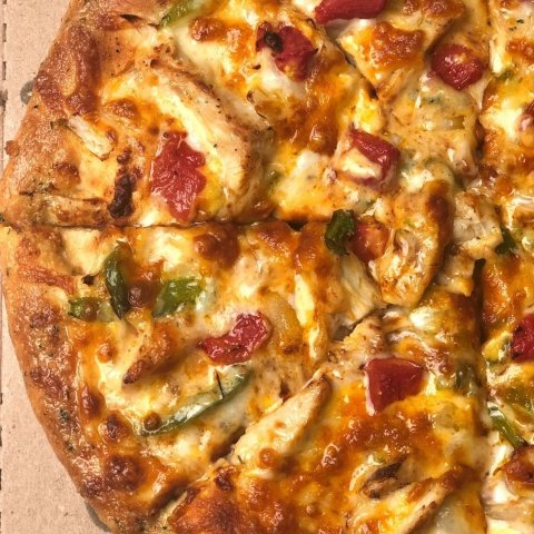 Large Pizzas $11.99 EachDomino's New Taco and Cheeseburger Pizzas are Here