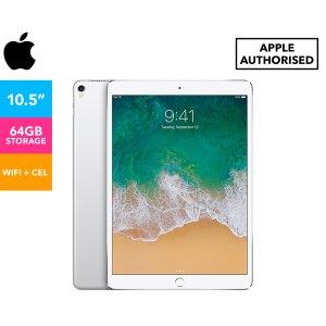 AppleWiFi + 蜂窝版 银色10.5-Inch iPad Pro 64GB