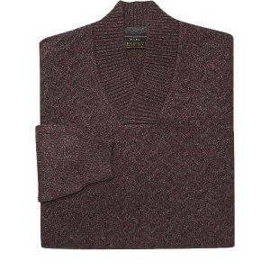 Reserve Collection Split Neck Sweater CLEARANCE - Clearance Sweaters | Jos A Bank