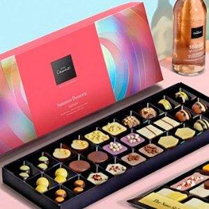 满£35享9折 £8起入甜蜜轻巧包Hotel Chocolat 英国高端巧克力七夕特卖