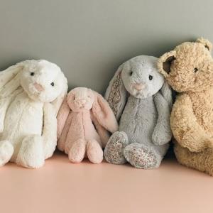 一律9折 €14收爆款邦尼兔Jellycat 世界上最柔软的玩偶 爆款邦尼兔、呆呆羊  超萌暴击
