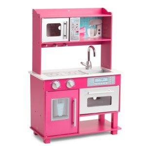 $49.99 今日包邮儿童 Gracie 木质玩具小厨房