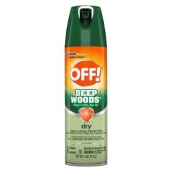 Off! Deep Woods Insect Repellent VIII Dry, 4 oz, 1ct