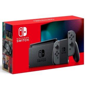 $299 + 送$30 游戏代金券Nintendo Switch 32GB 续航增强版,美亚自营