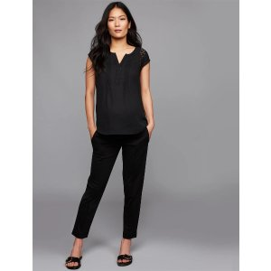 A Pea in the PodUnder Belly Slim Knit Maternity Pant
