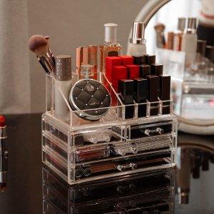 Cq acrylic Makeup Organizer for Vanity