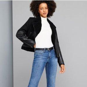 低至4折 $55收修身款7分牛仔裤JOES Jeans 牛仔裤闪购热卖,打造逆天大长腿