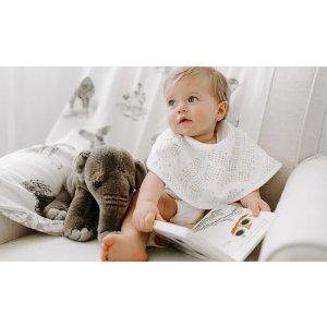 ADEN + ANAIS婴儿多用途拍嗝巾/围兜2条