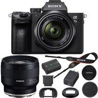 Sony Alpha a7 III  微单 + 28-70mm 镜头 + Tamron 35mm F2.8