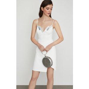BCBGMAXAZRIASequin-Trimmed Sheath Dress