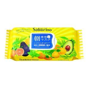 日本BCL SABORINO 早安60秒懒人保湿面膜 32片入