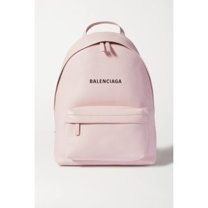 BalenciagaEveryday printed leather backpack