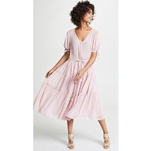 Serena 薄纱连衣裙