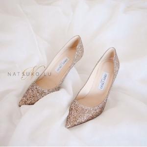 低至5折 €270收水晶平底鞋Jimmy Choo 大促独家入口 blingbling的水晶鞋 少女心爆棚