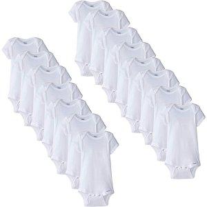 $20.99Gerber 婴儿包臀衫15件套装,三个尺码各5件