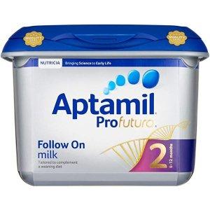Aptamil2段白金版奶粉 800g 4包