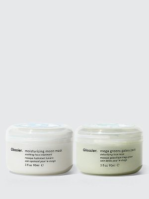 Face Masks: Mask Duo   Glossier