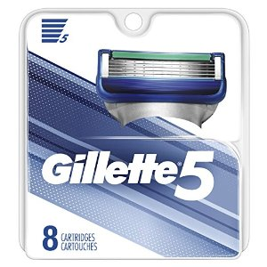 $11.99Gillette 5 Men's Razor Blade Refills, 8 Count
