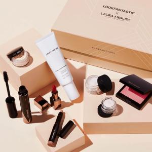 $108收8件套 (价值$268+)补货:LF x Laura Mercier 美妆盒子 含妆前乳、腮红等3正装