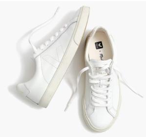上新 清新优雅复古小白鞋madewell x veja 合作款上新