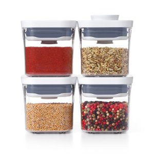 OXOPOP 4-Piece Mini Container Set