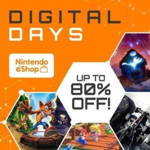 低至2折 舞力全开、分手厨房热卖Nintendo Switch 数码日特惠 游戏数字版超低价