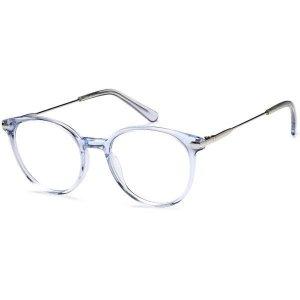 LeonardoDC 186 水晶蓝镜框 3色选