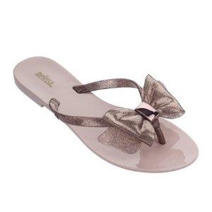 Melissa蝴蝶结 拖鞋