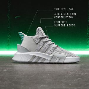 额外7折 + 包邮,$27起最后一天:adidas EQT系列成人款,童款鞋履折上折促销