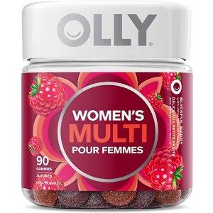 OLLY 女性综合维生素软糖 90颗