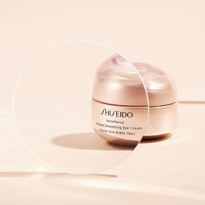 Buy 2 Get 30% Off + 15% OffShiseido Benefiance Wrinkle Smoothing Eye Cream Sale