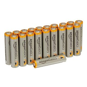 $4.22AmazonBasics AAA 1.5 Volt Performance Alkaline Batteries - Pack of 20