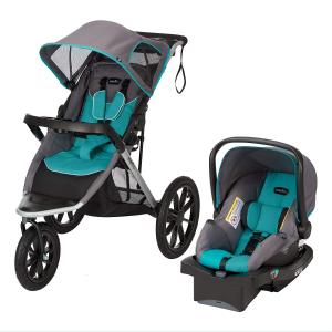 $299.97 (原价$429.97)史低价:Evenflo Victory Plus 儿童推车+安全座椅超值2件套